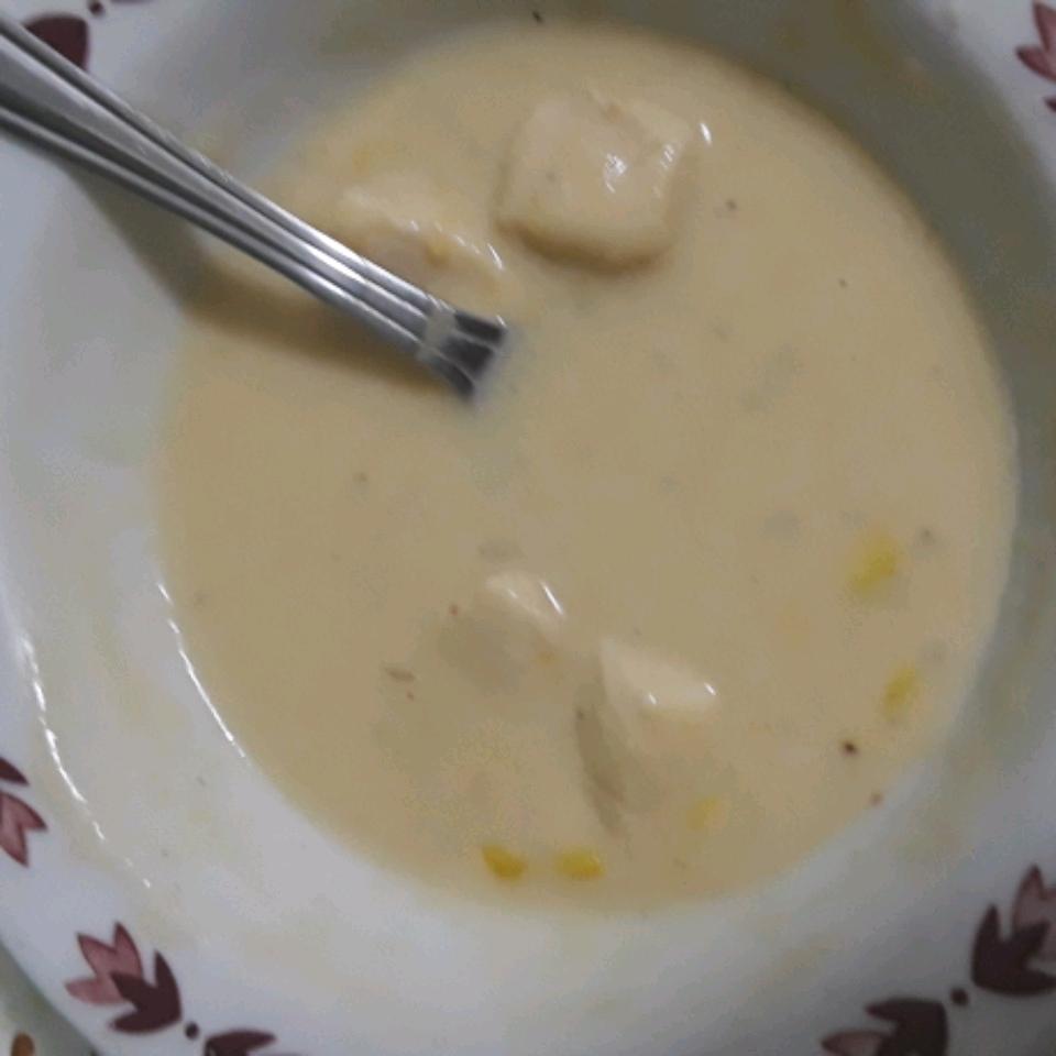 Quick Chicken and Corn Chowder Charlotte Ingersoll