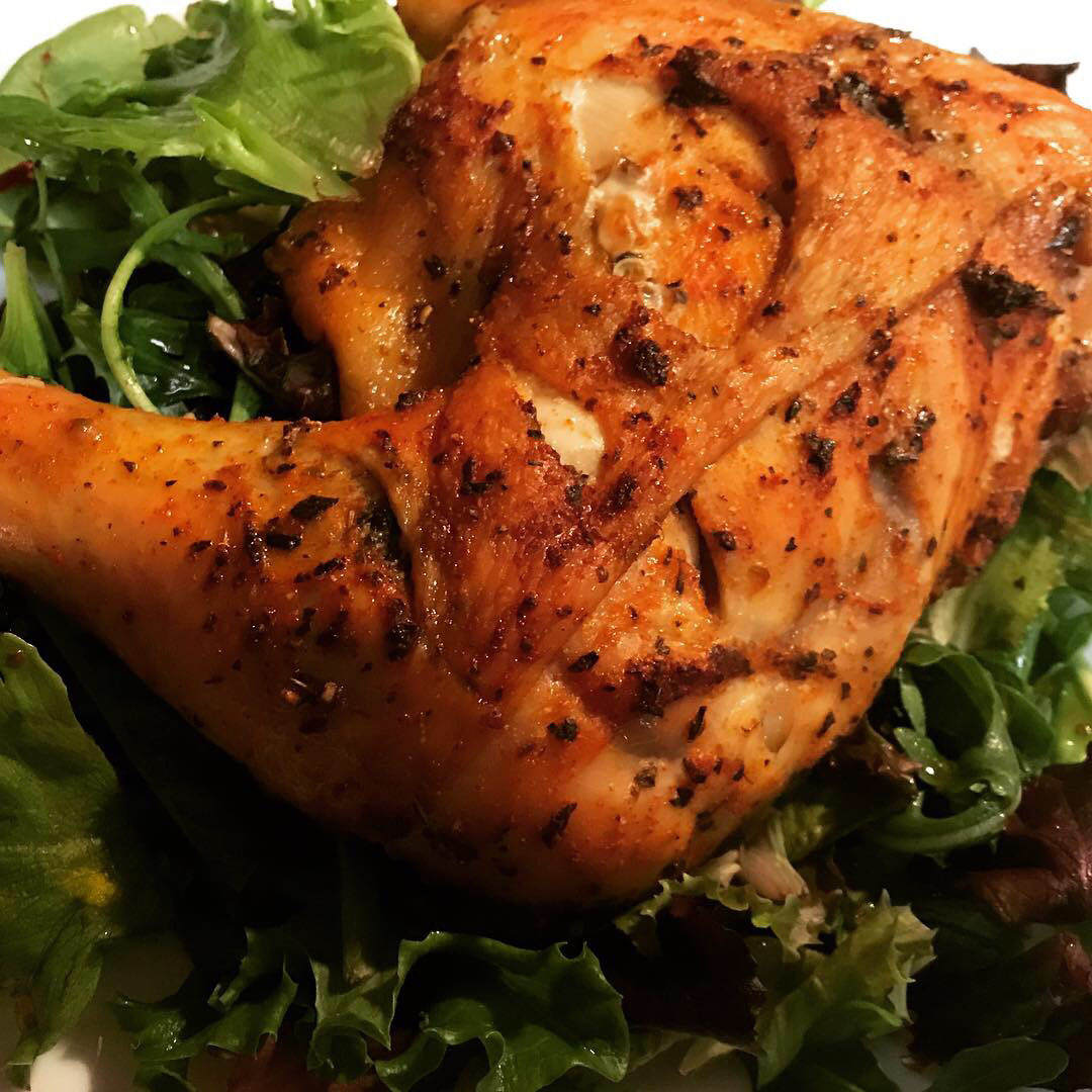 Spicy Rapid Roast Chicken Des Jbon