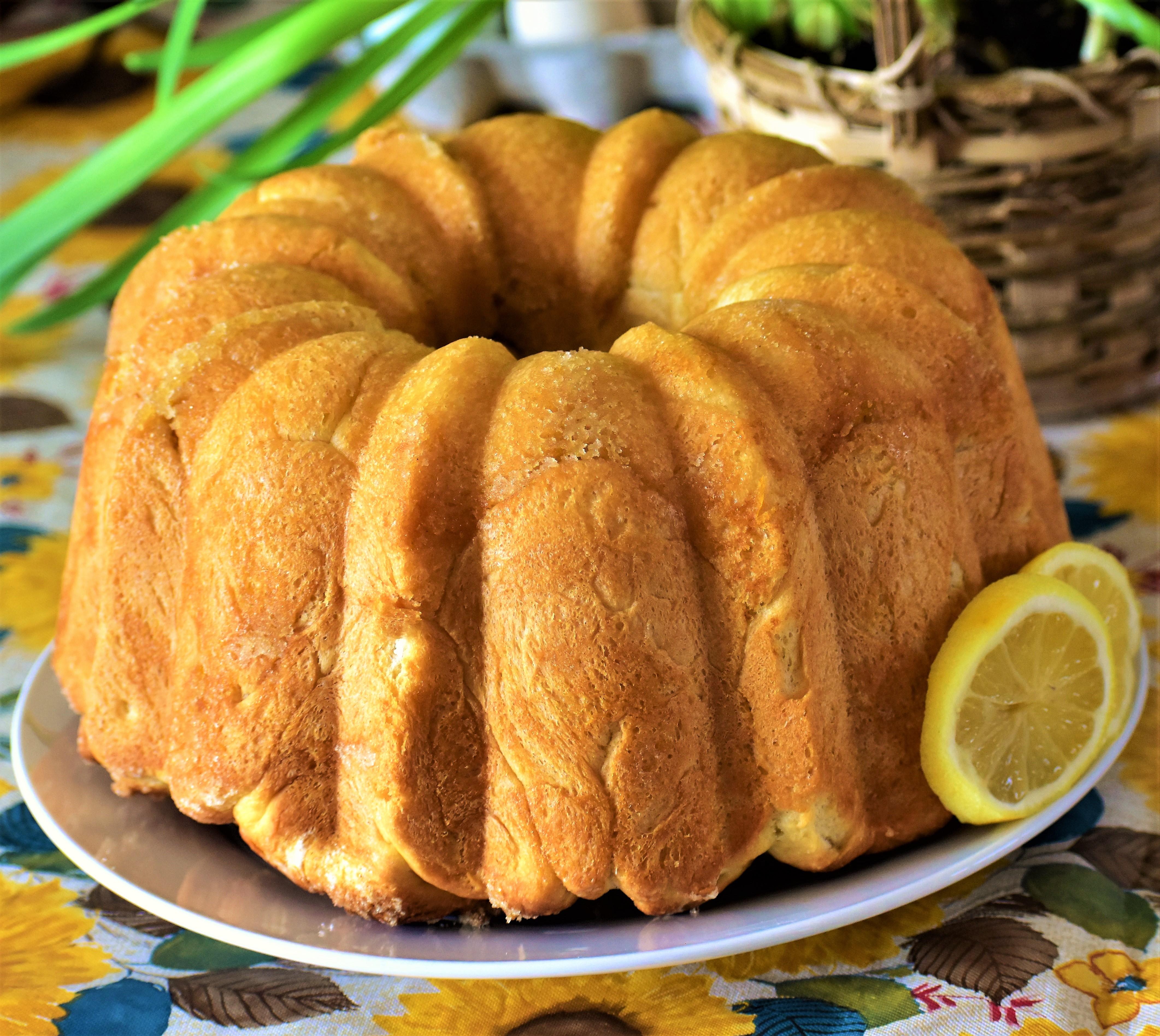 Lemon Bubble Bread