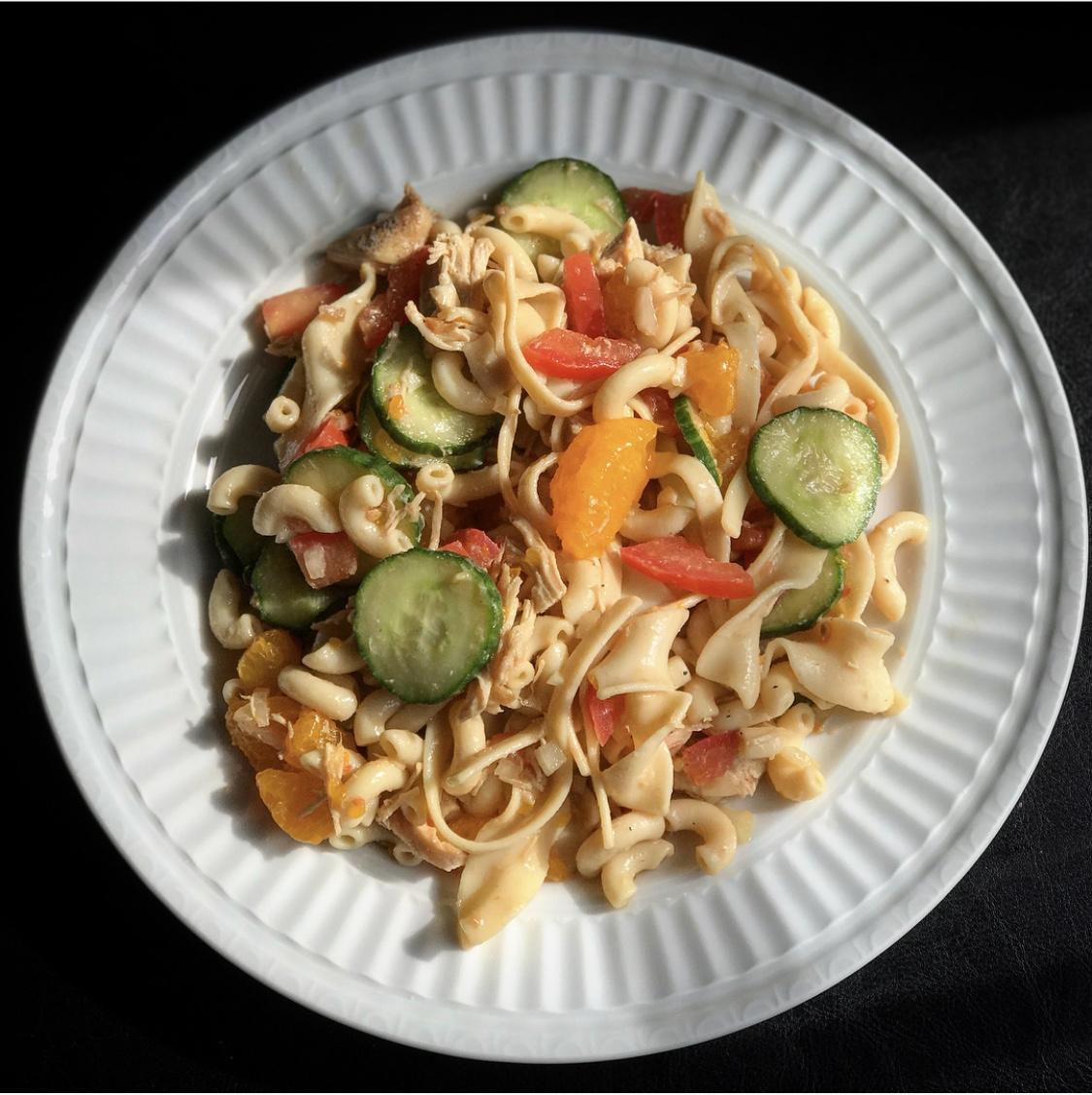 Mandarin Chicken Pasta Salad Mattie