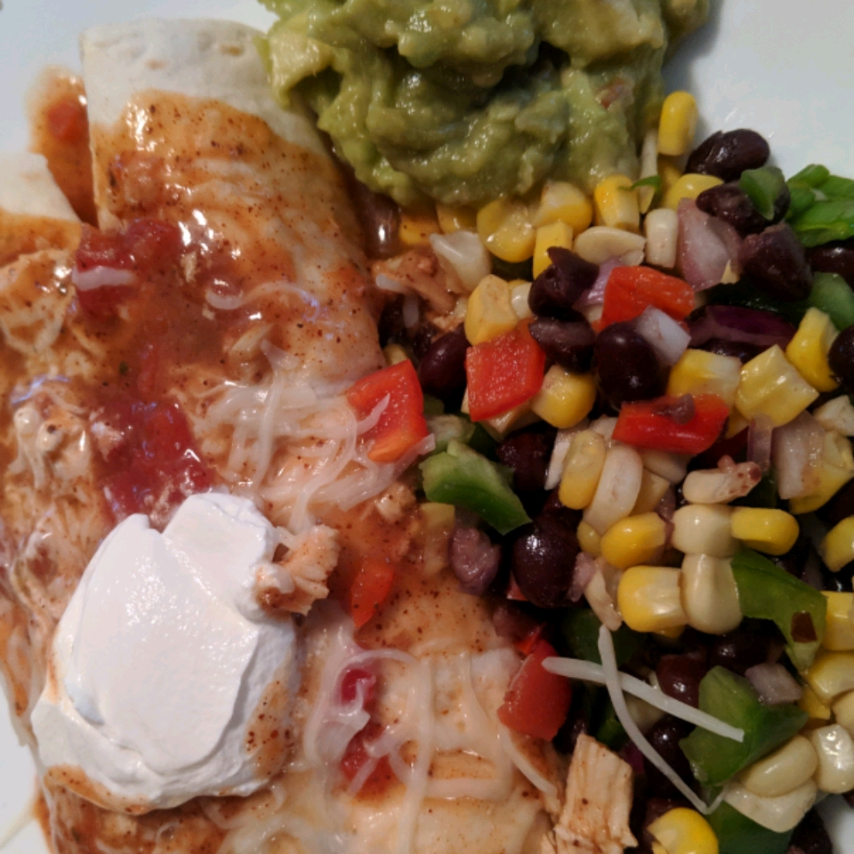 Super Easy Slow Cooker Chicken Enchilada Meat allfoodsgj