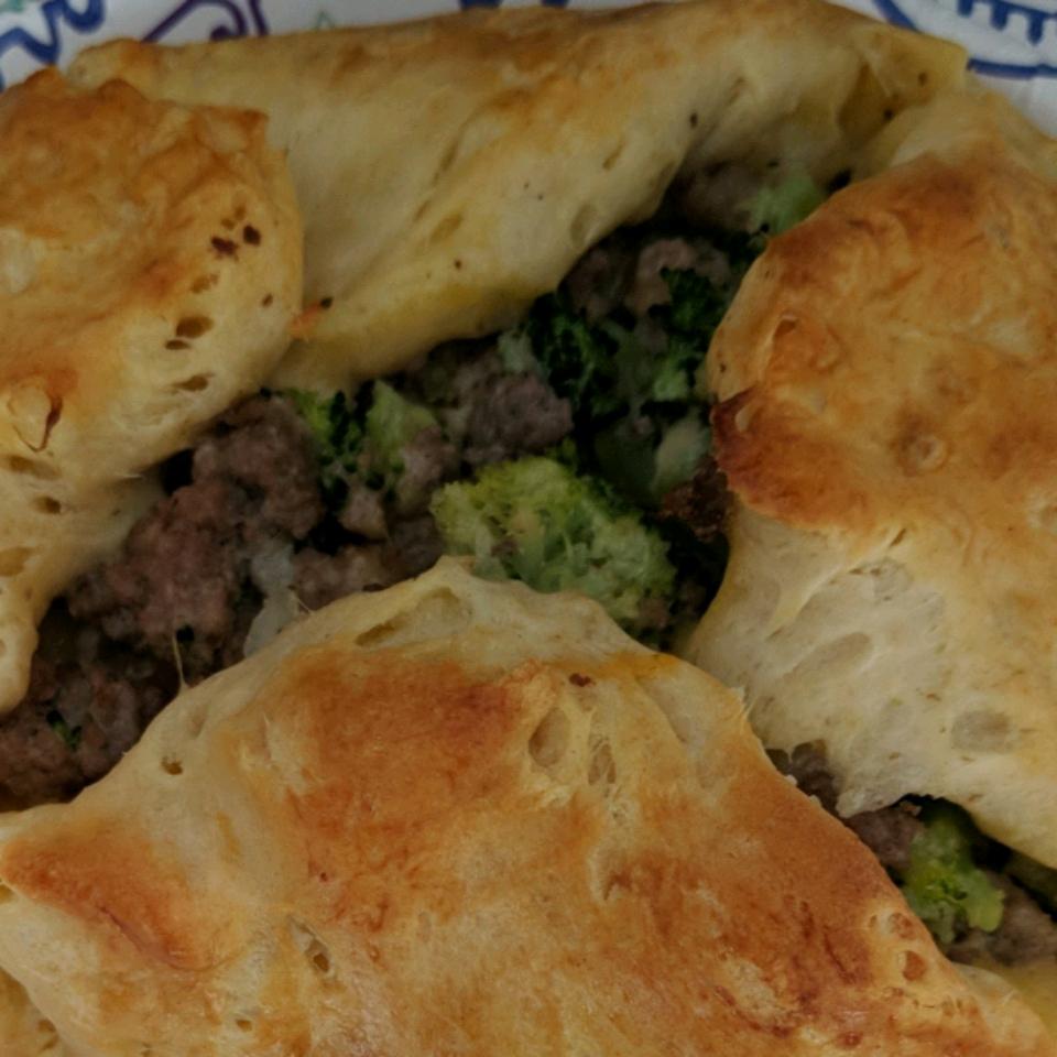 Broccoli-Beef Wellington