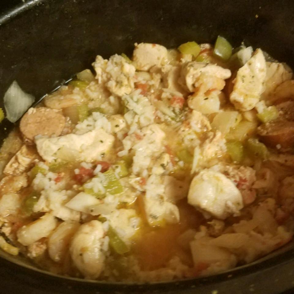 Colleen's Slow Cooker Jambalaya