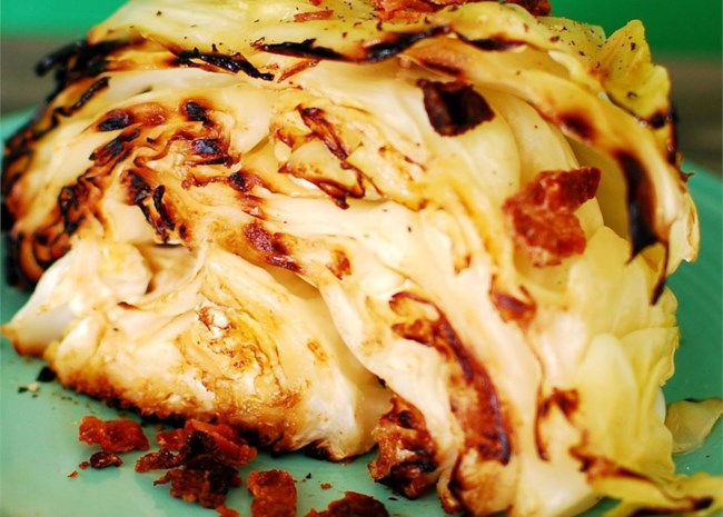 Barbequed Cabbage
