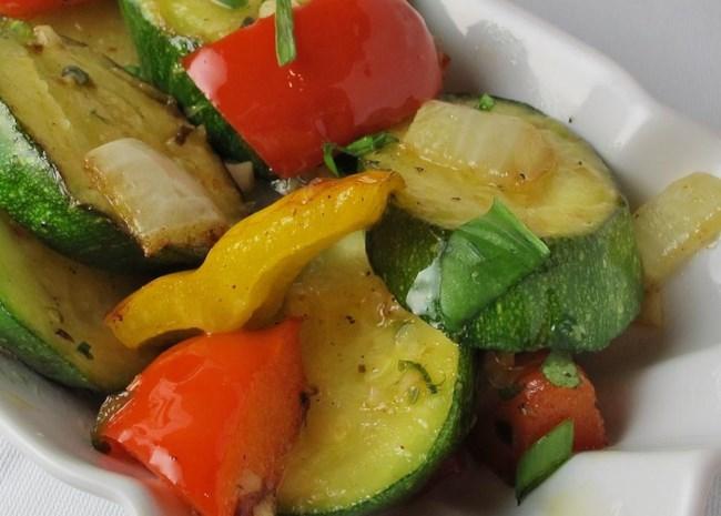 Garlic Vegetable Saute