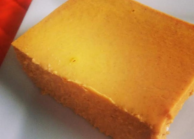 Low-Carb Pumpkin Cheesecake Bars