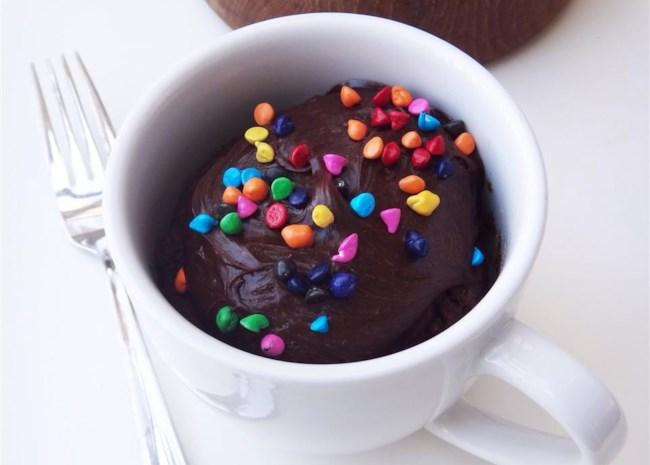 Fudgy Nutella(R) Mug Cake