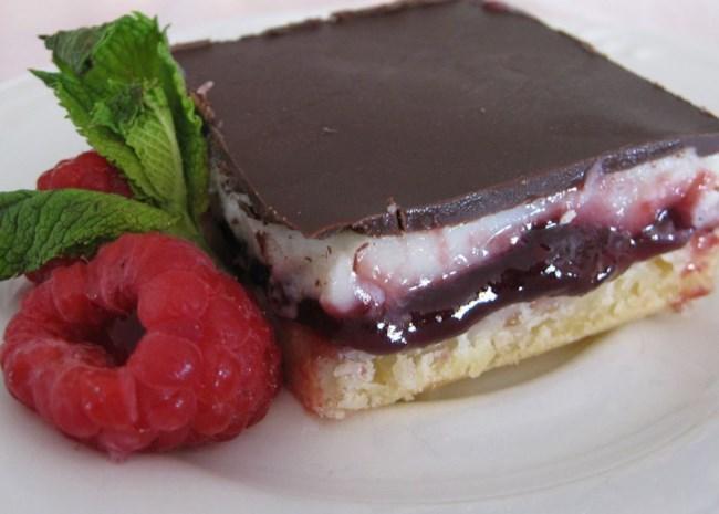 Raspberry Chocolate Supremes