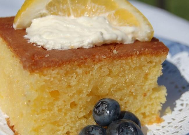 Lemon Poke Cake II