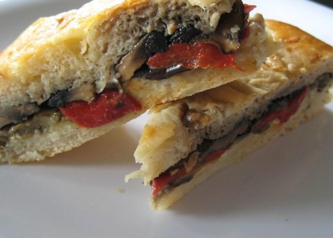 Grilled Mediterranean Vegetable Sandwich
