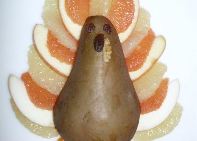Sheri's Fun Fruit Turkey