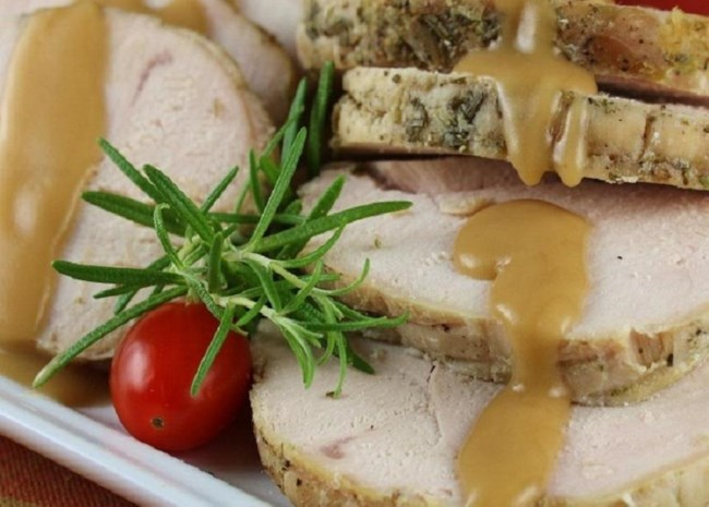 Slow Cooker Herbed Turkey Breast