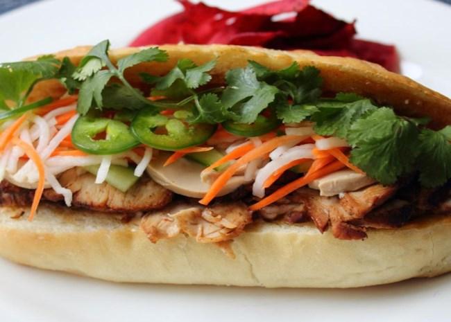 Roasted Pork Banh Mi