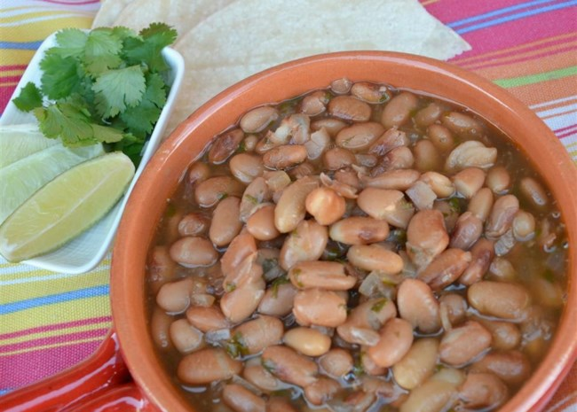 Instant Pot® Charro (Refried Beans)