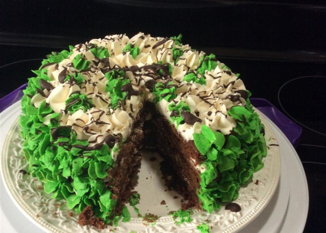 Perfect St. Patrick's Day Cake