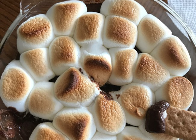Baked S'mores Dip
