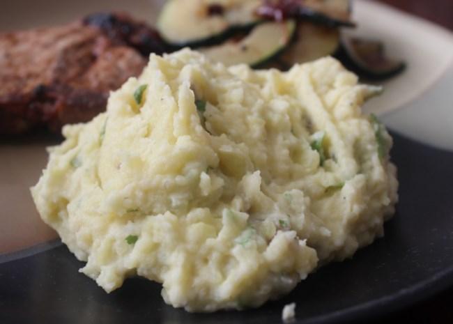Mashed Potatoes with Horseradish