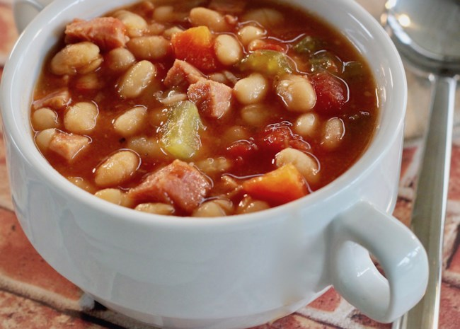 Instant Pot(R) Double Bean and Ham Soup