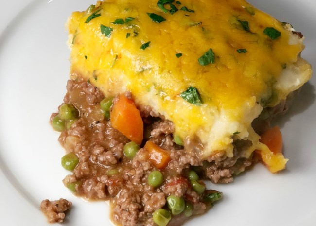 A Scotsman's Shepherd Pie