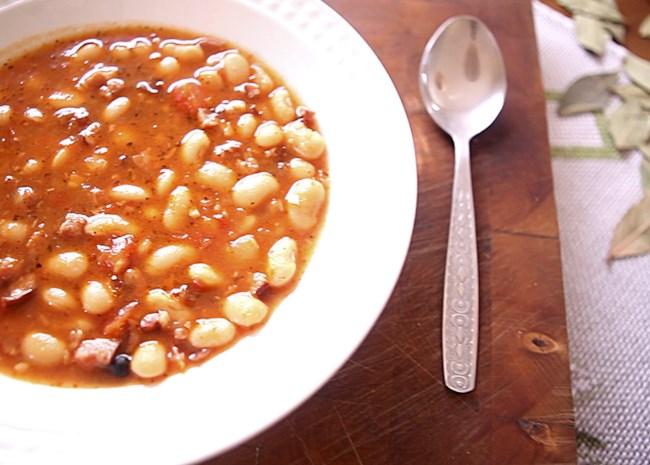 Polish Bean and Sausage Stew