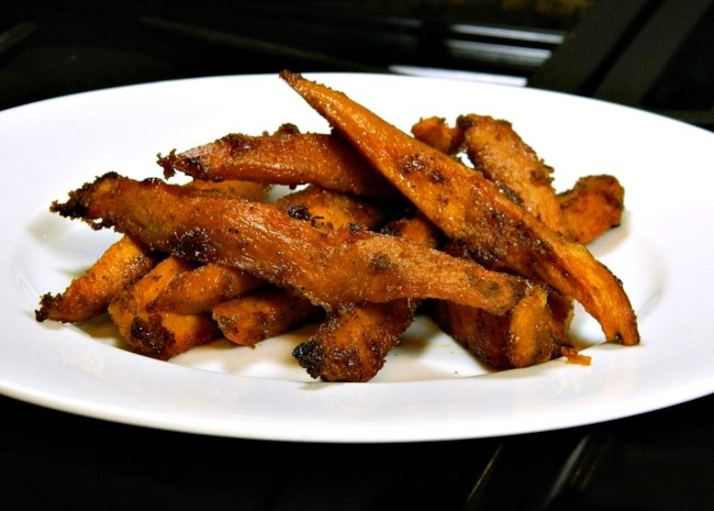 Jan's Chipotle Roasted Sweet Potato Fries