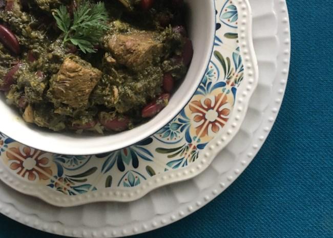 Ghormeh Sabzi Persian Herb Stew