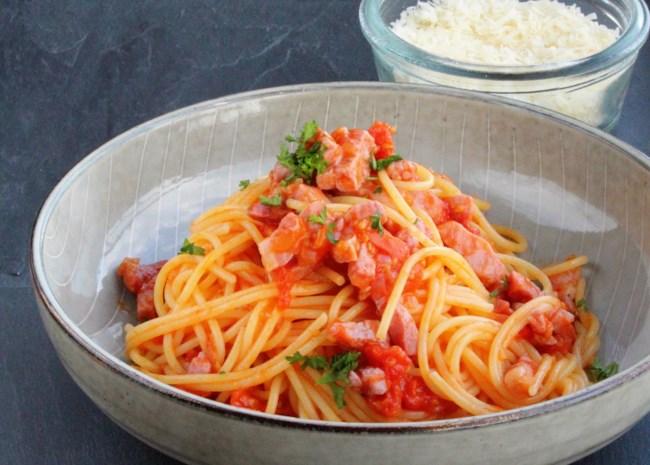 Traditional Spaghetti all'Amatriciana