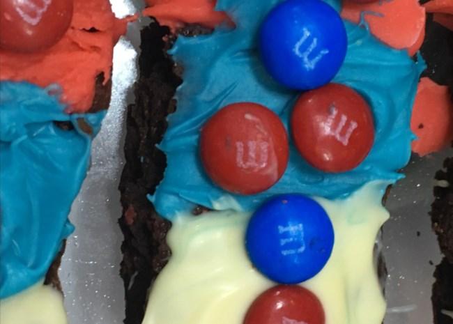 Best 4th of July Patriotic Brownies