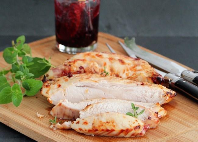 olive-brined air-fryer turkey breast