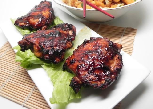 Hoisin-Glazed Chicken Thighs