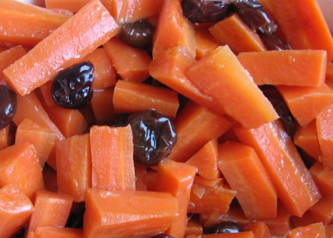 Carrots with Dried Cherries | Photo by Jan Jenkins