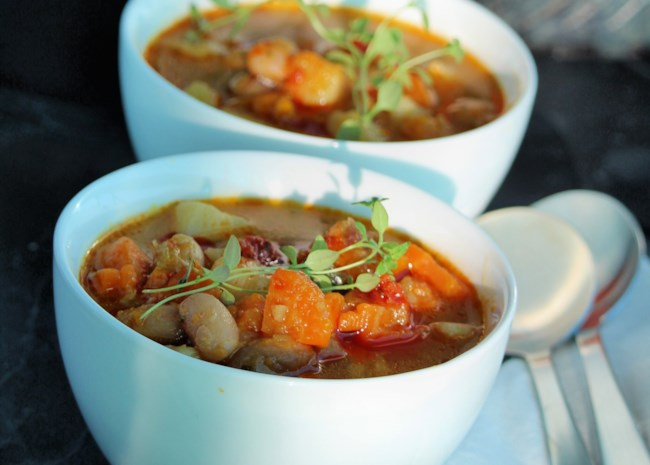 Gluten-Free Northern Italian Autumn Minestrone