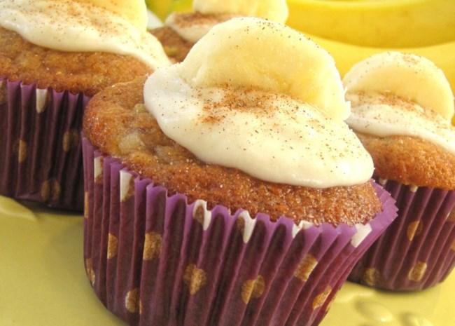 Apple Banana Cupcakes