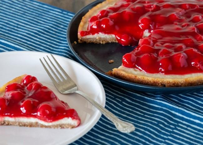 Cherry Cheezecake