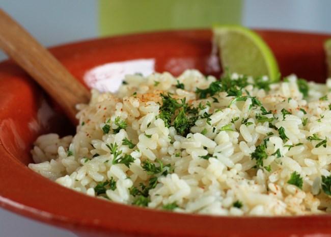 Instant Pot Lime-Cilantro Rice