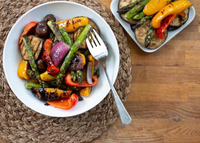 Eggplant Mixed Grill