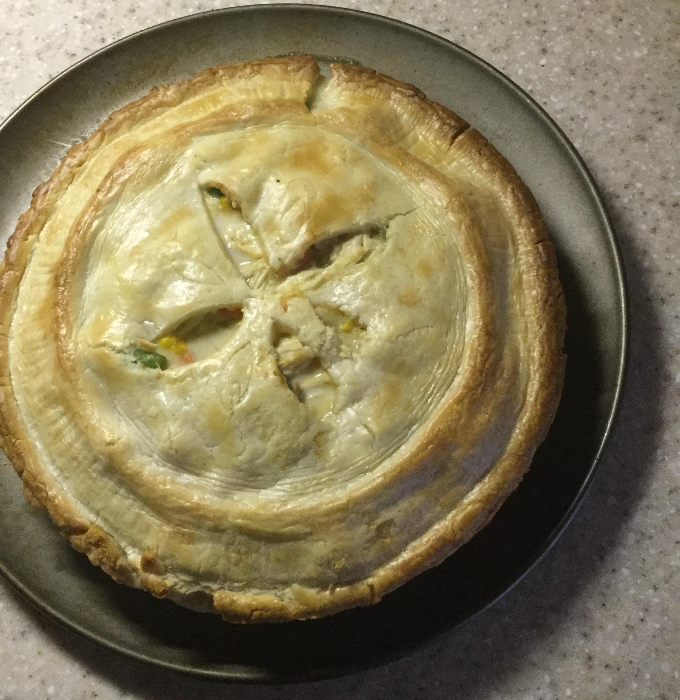 Easy Chicken Pot Pie lauren