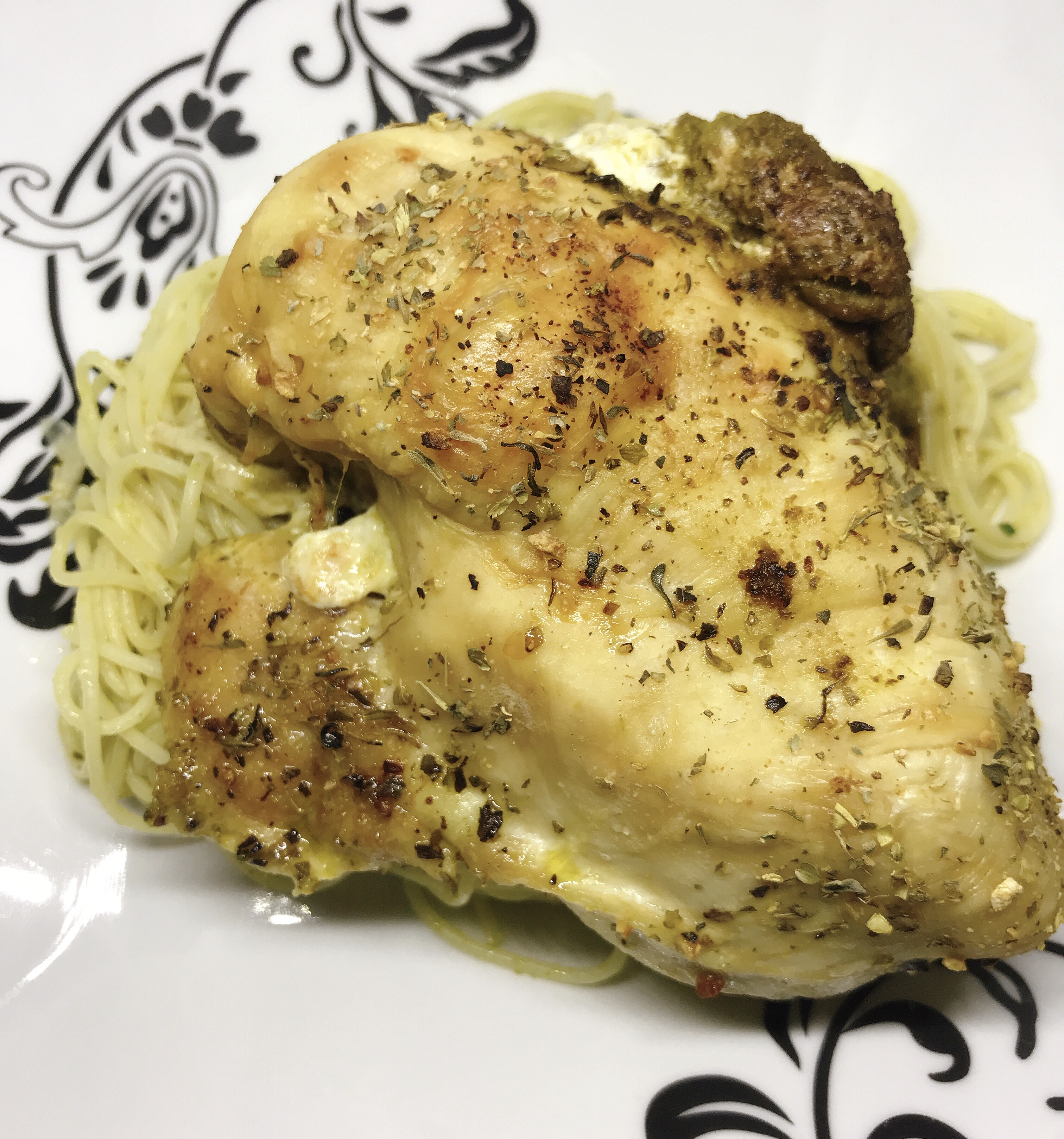 Caprese-Stuffed Chicken Breasts thedailygourmet
