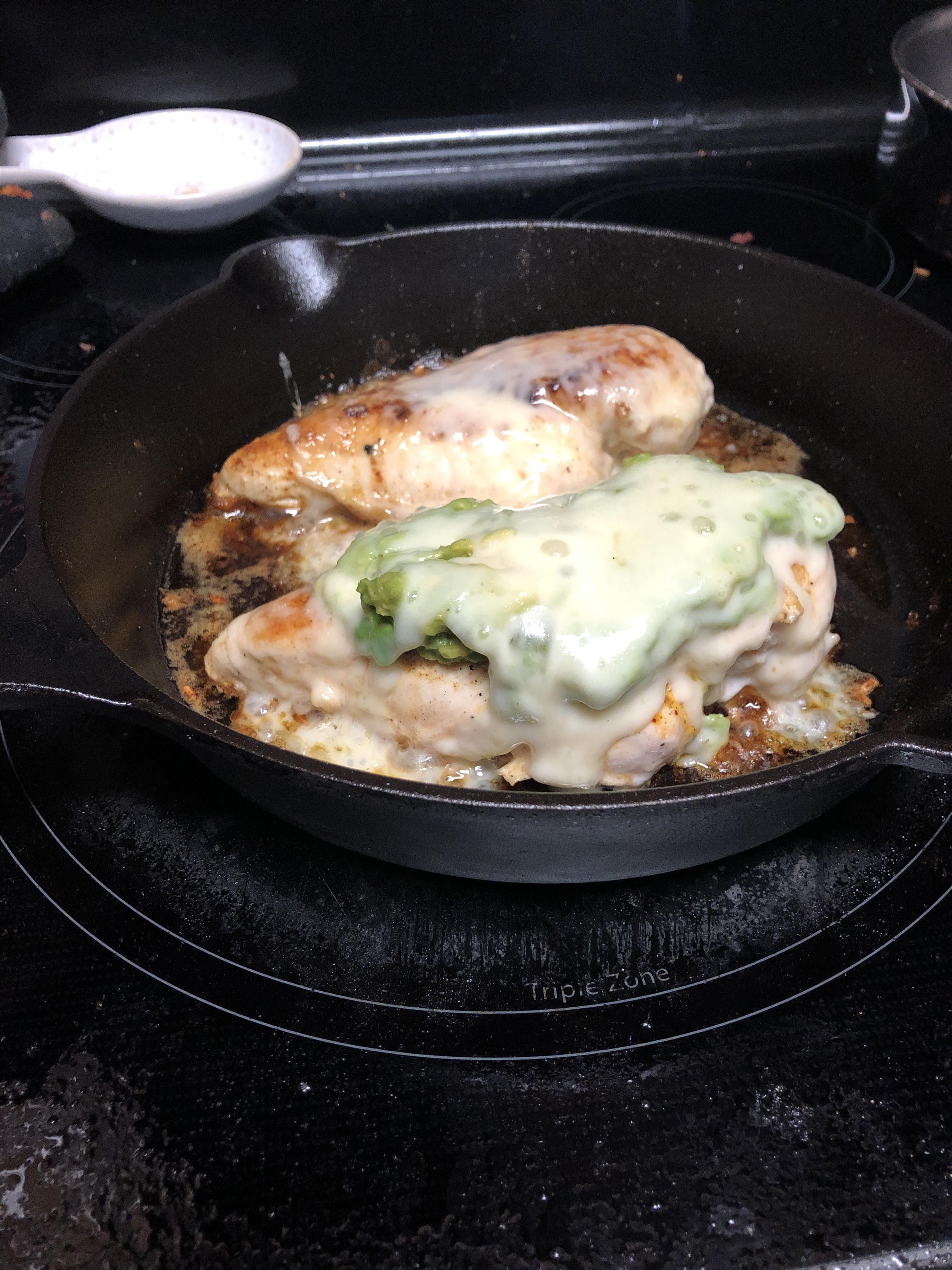 Guacamole Chicken Melt Kymberly Vargas