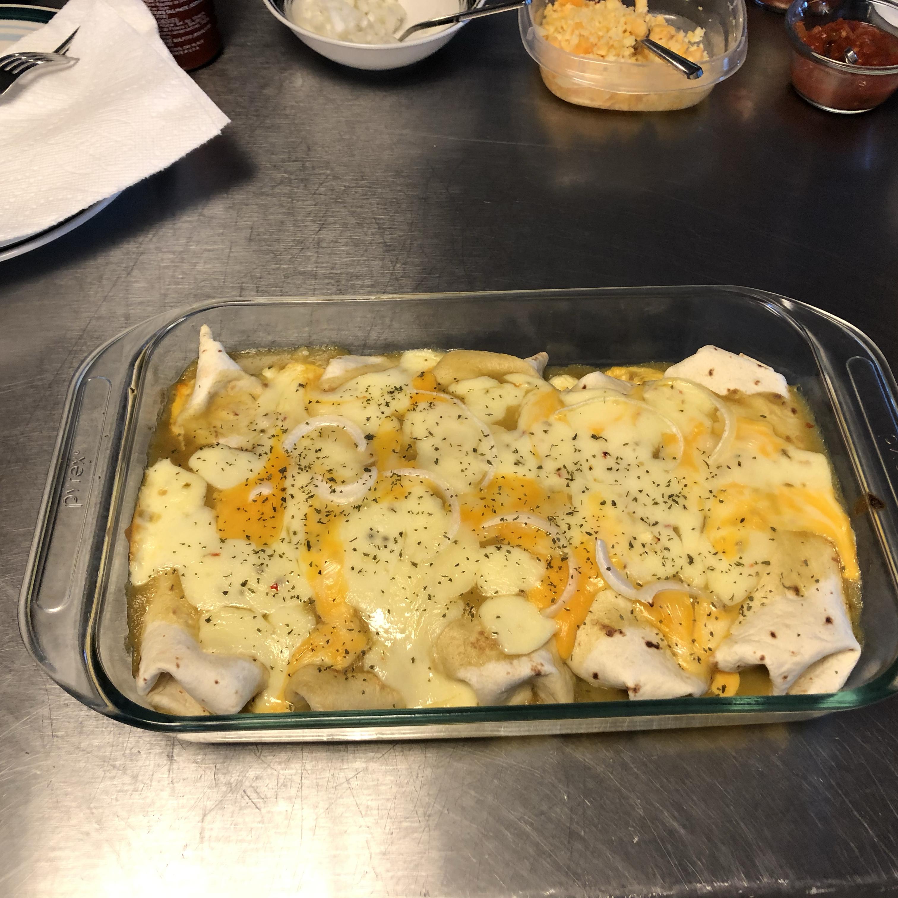 Fiesta Chicken Enchiladas Msgoofy