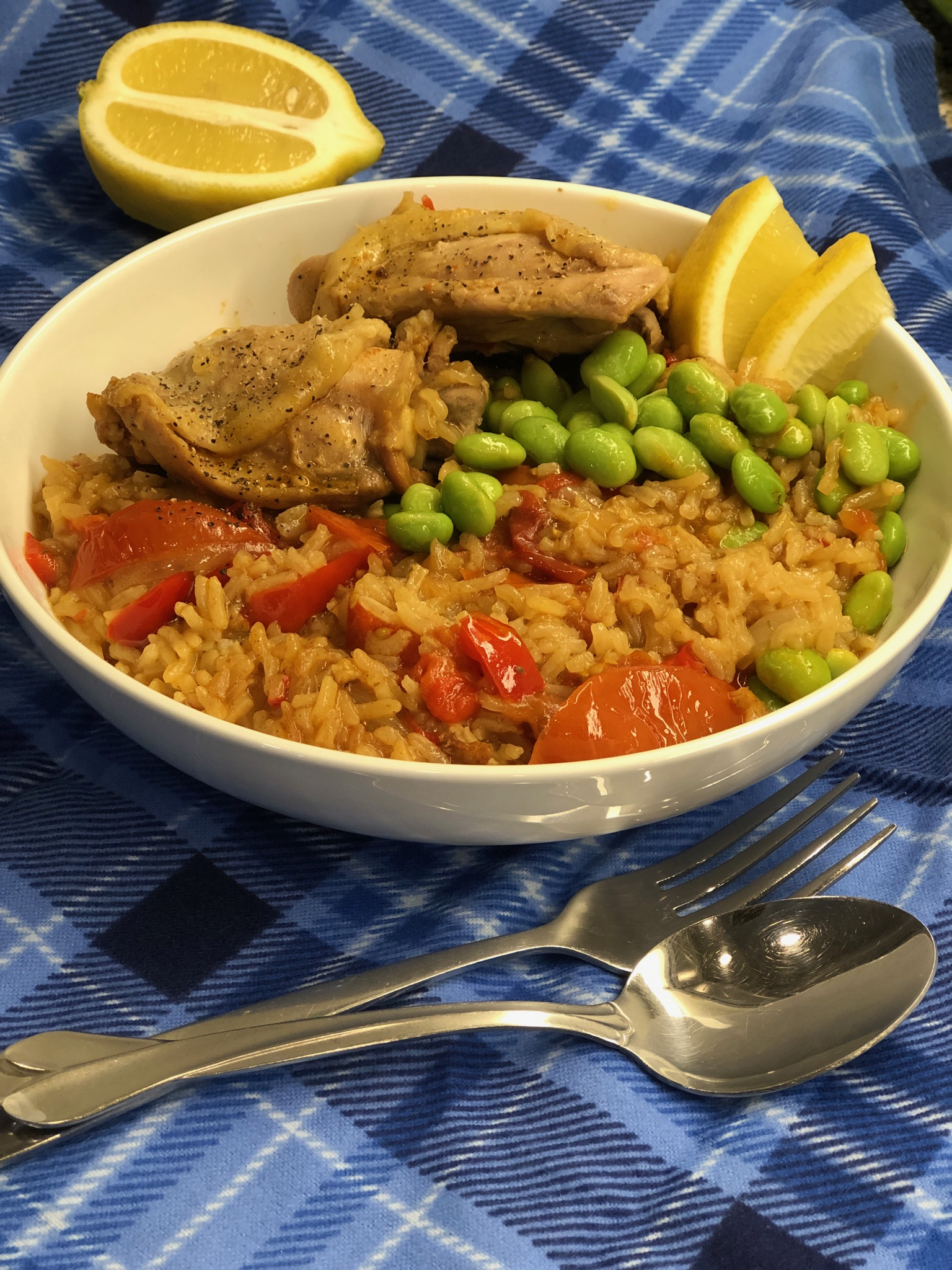 Instant Pot® Spanish Chicken and Rice