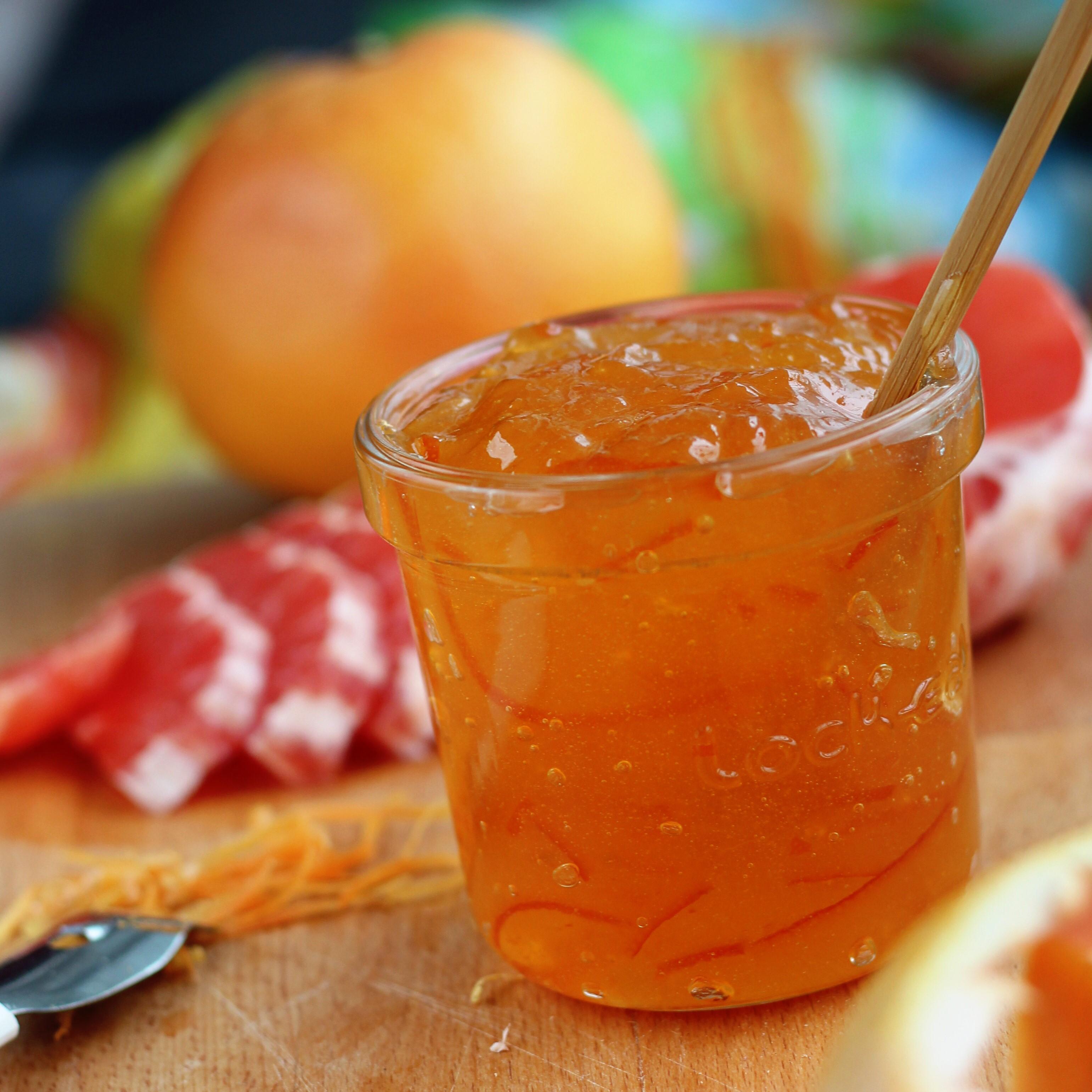 Grapefruit Marmalade image