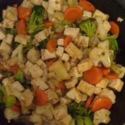 Wicked Garlic Tofu Saute Kathryn Parker