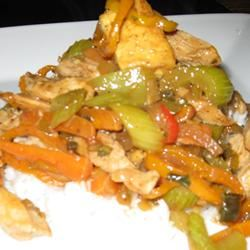 Stir-Fried Chicken with Tofu and Mixed Vegetables t_jones