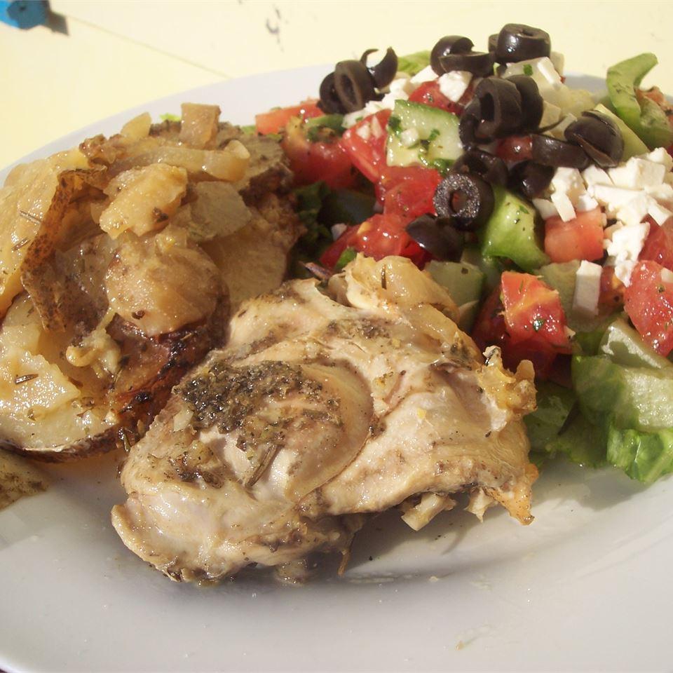 Greek Slow Cooker Chicken ASHAMROCK