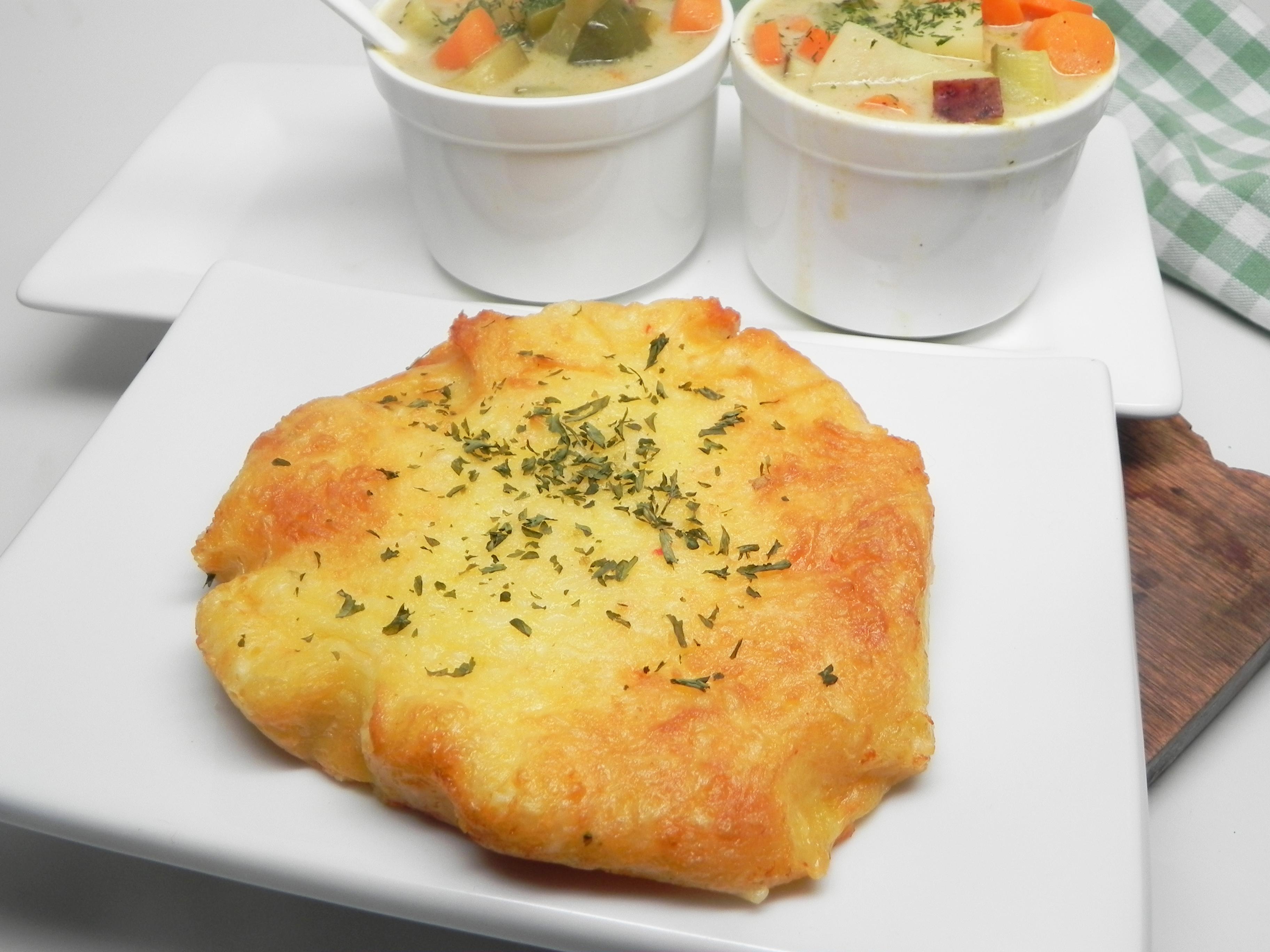 Air Fryer Keto Garlic Cheese Bread Recipe Allrecipes