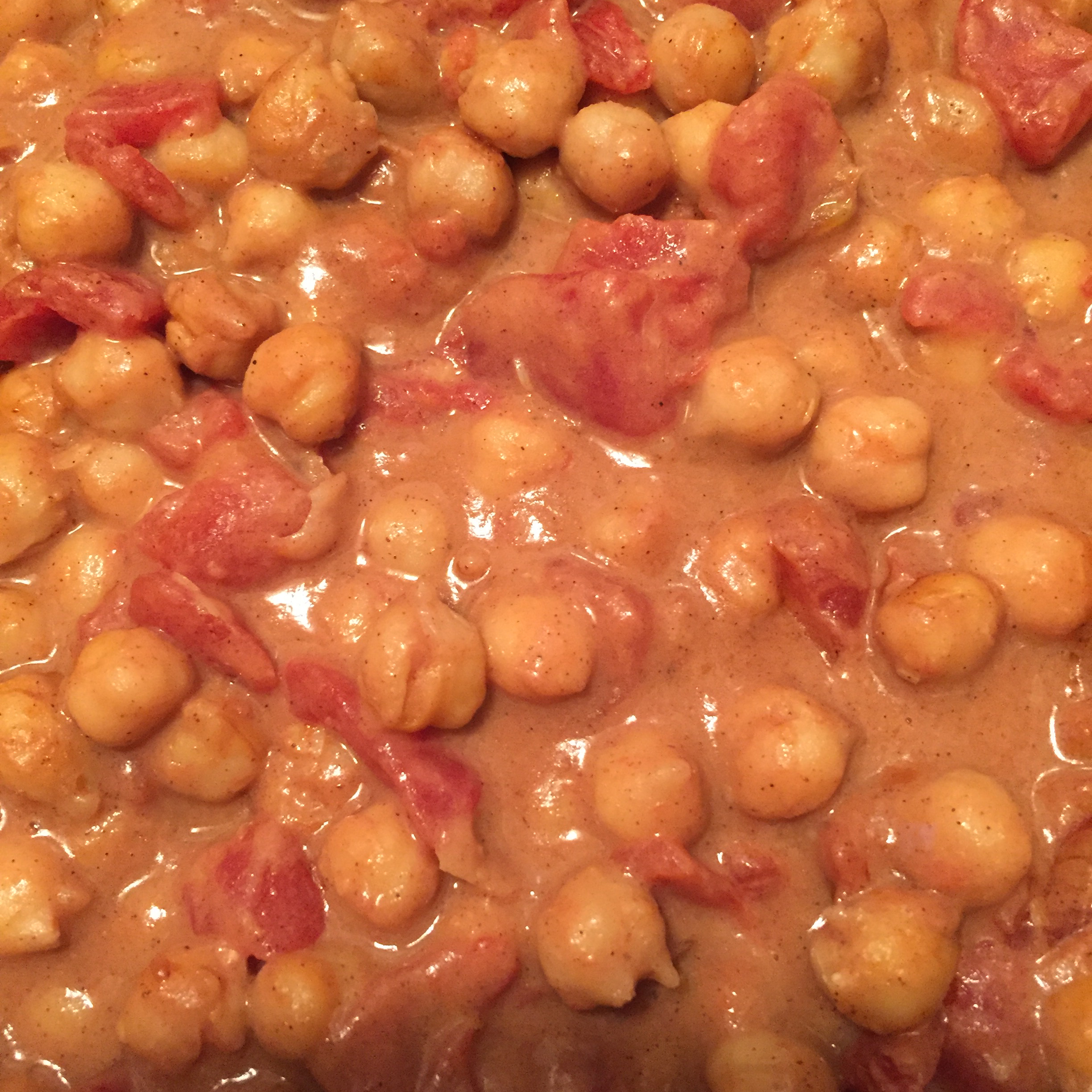 Peanut-Ginger Chickpea Curry