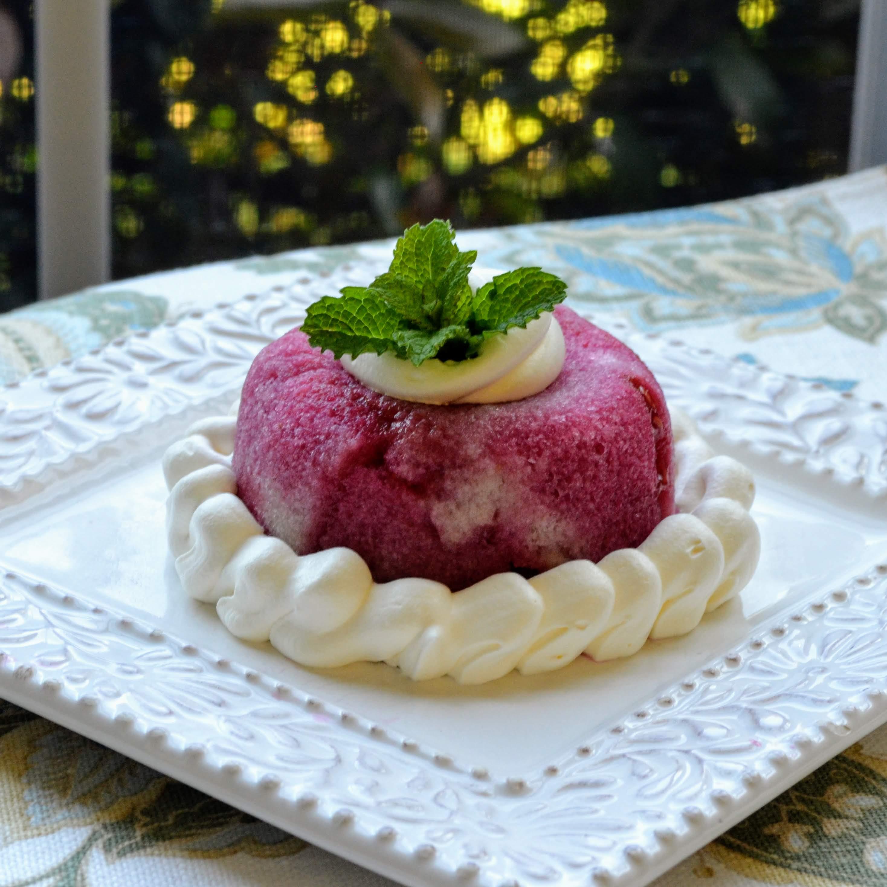 Raspberry Summer Pudding (English Style)