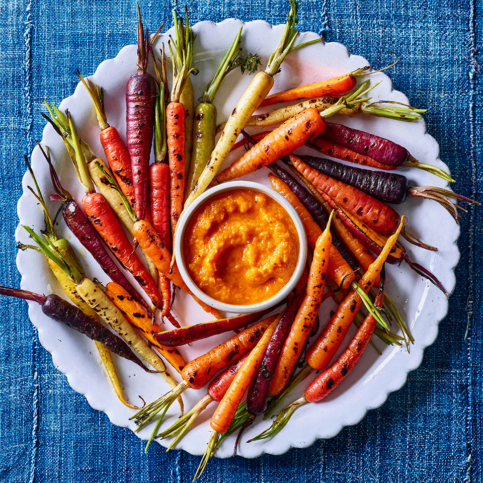 Grilled Carrots with Smoky Ketchup Judith Fertig