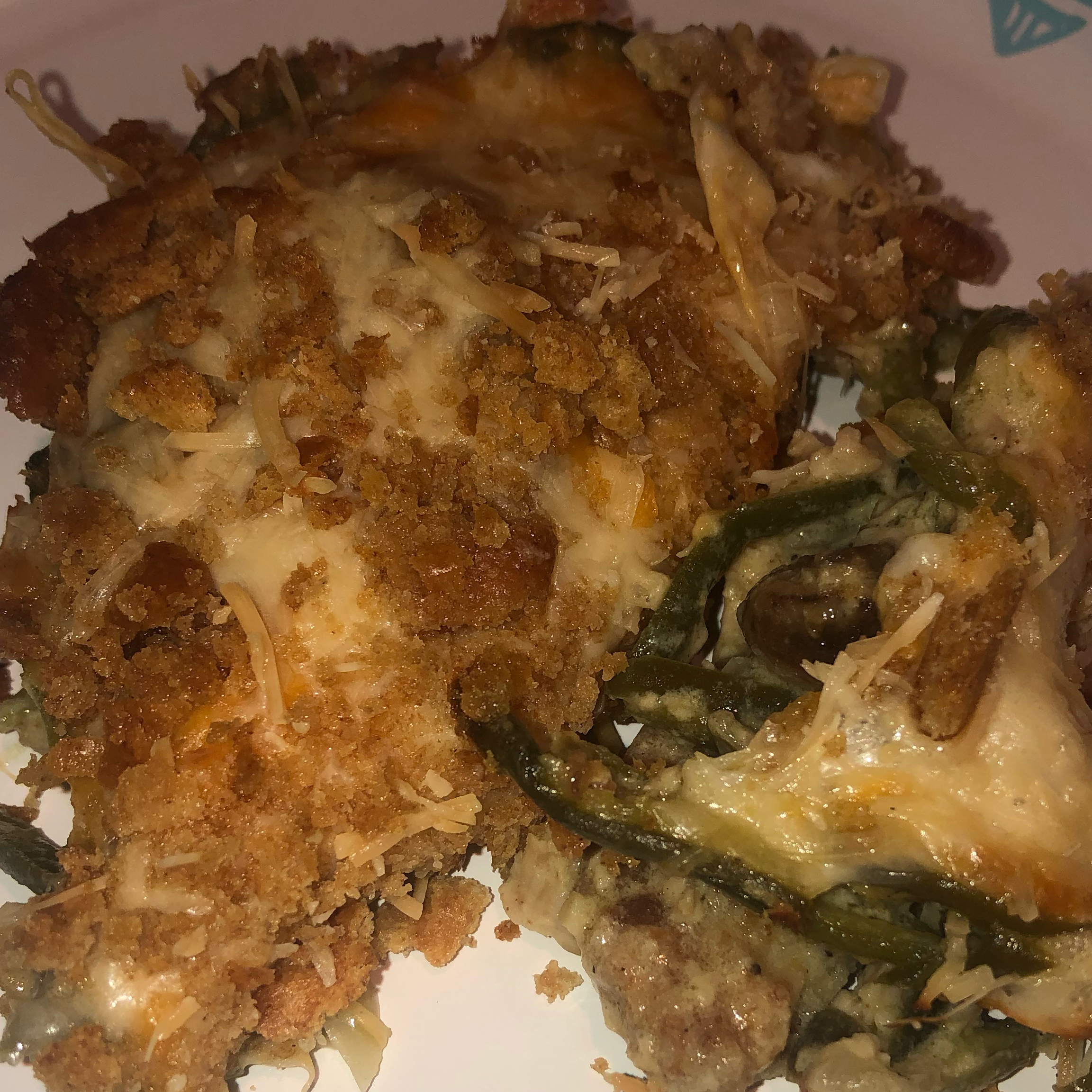 Chicken, Eggplant, and Green Beans Casserole timwall